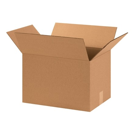 "Corrugated Boxes, 15 x 11 x 11"", Kraft"