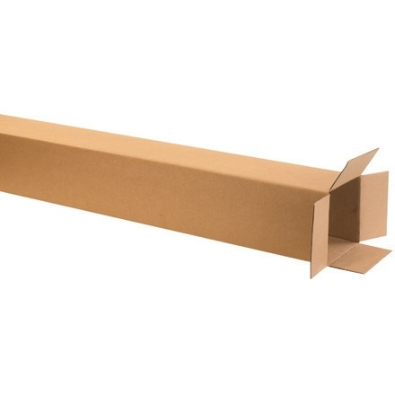 "Corrugated Boxes, 8 x 8 x 50"", Kraft"