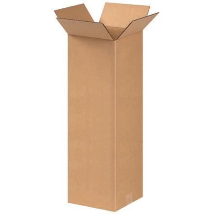 "Corrugated Boxes, 8 x 8 x 24"", Kraft"