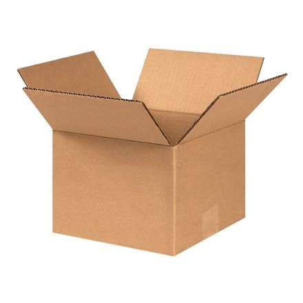 "Corrugated Boxes, 8 x 8 x 6"", Kraft"
