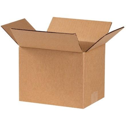 "Corrugated Boxes, 8 x 6 x 6"", Kraft"