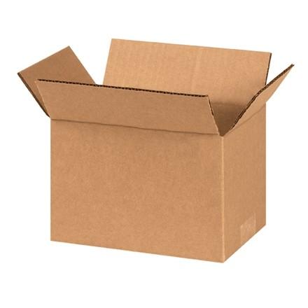 "Corrugated Boxes, 8 x 5 x 5"", Kraft"