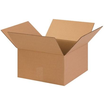 "Corrugated Boxes, 13 1/2 x 13 1/2 x 7 1/2"", Kraft"