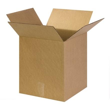 "Corrugated Boxes, 13 x 13 x 17"", Kraft"