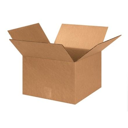 "Corrugated Boxes, 13 x 13 x 9"", Kraft"