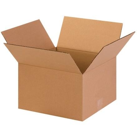 "Corrugated Boxes, 13 x 13 x 8"", Kraft"