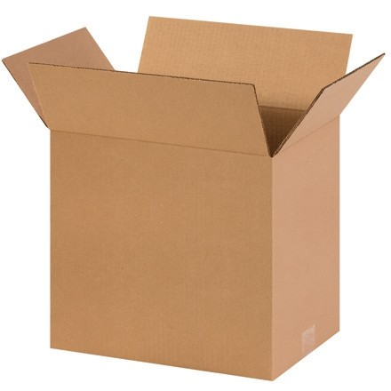 "Corrugated Boxes, 13 x 10 x 15"", Kraft"