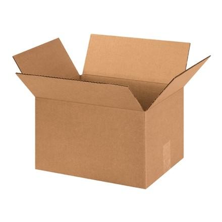 "Corrugated Boxes, 13 x 10 x 8"", Kraft"