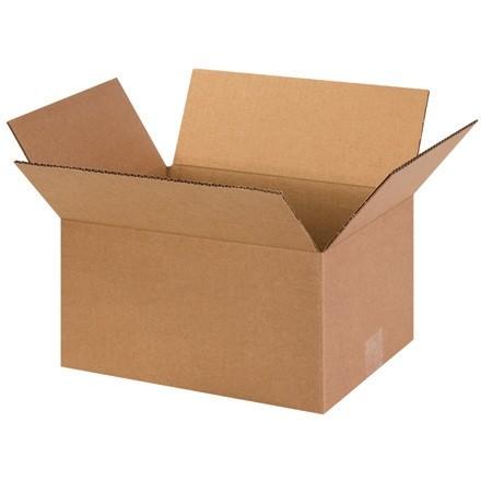 "Corrugated Boxes, 13 x 10 x 7"", Kraft"
