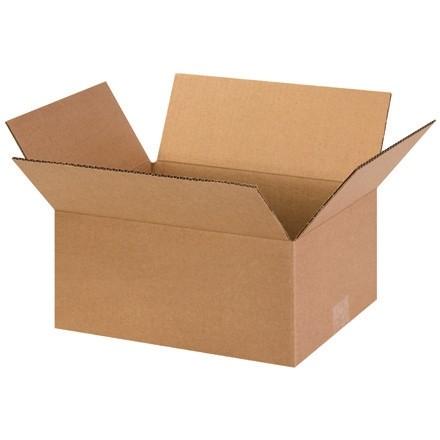 "Corrugated Boxes, 13 x 10 x 6"", Kraft"