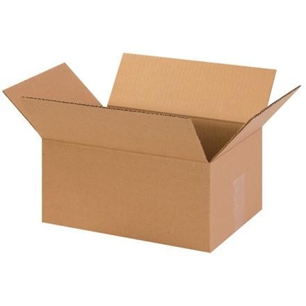 "Corrugated Boxes, 13 x 9 x 6"", Kraft"