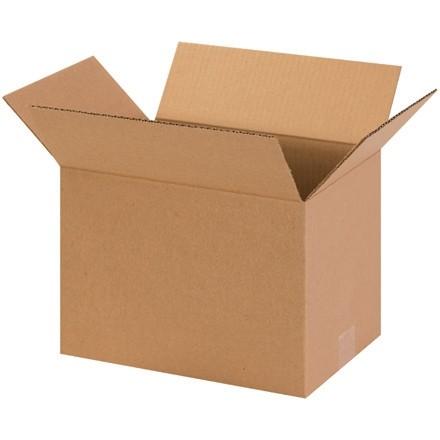 "Corrugated Boxes, 13 x 9 x 9"", Kraft"
