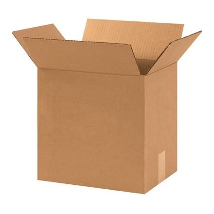 "Corrugated Boxes, 12 1/4 x 9 1/4 x 12"", Kraft"