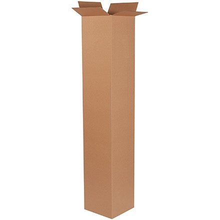 "Corrugated Boxes, 12 x 12 x 72"", Kraft"