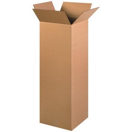 "Corrugated Boxes, 12 x 12 x 36"", Kraft"