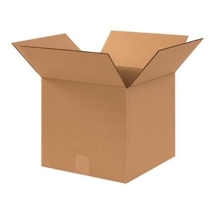 "Corrugated Boxes, 11 x 11 x 10"", Kraft"