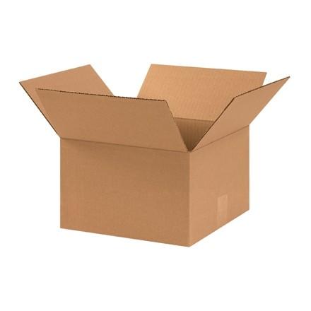"Corrugated Boxes, 11 x 11 x 7"", Kraft"
