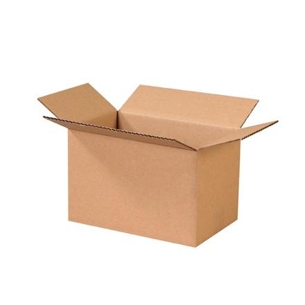 "Corrugated Boxes, 11 x 7 x 7"", Kraft"