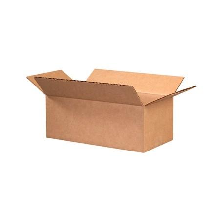 "Corrugated Boxes, 11 x 6 x 4"", Kraft"