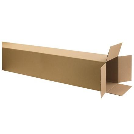 "Corrugated Boxes, 10 x 10 x 72"", Kraft"
