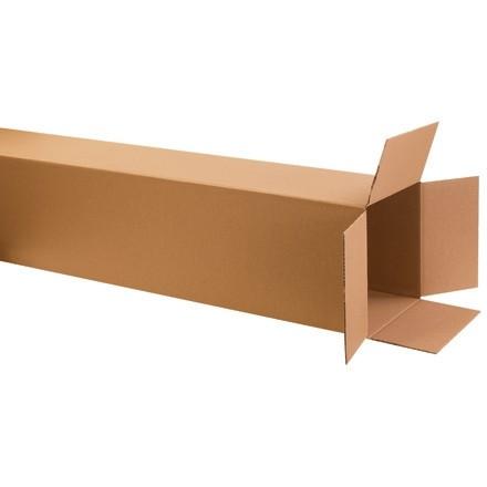 "Corrugated Boxes, 10 x 10 x 60"", Kraft"