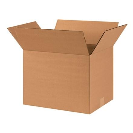 "Corrugated Boxes, 16 x 12 x 12"", Kraft"