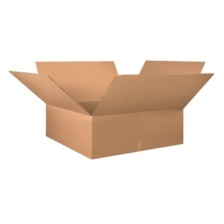 "Double Wall Corrugated Boxes, 36 x 36 x 12"", 48 ECT"