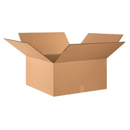 """Double Wall Corrugated Boxes, 26 x 26 x 12"""", 48 ECT"""