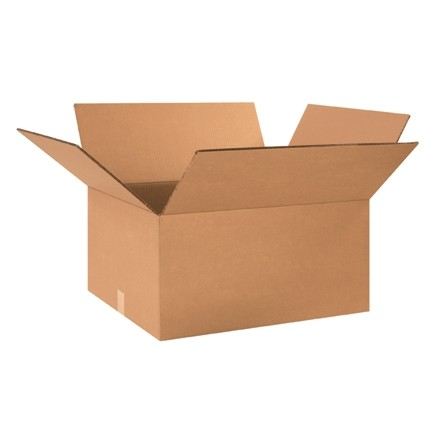 """Double Wall Corrugated Boxes, 24 x 20 x 12"""", 48 ECT"""