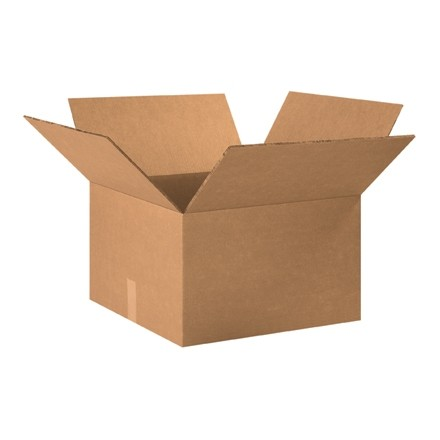 """Double Wall Corrugated Boxes, 20 x 20 x 10"""", 48 ECT"""