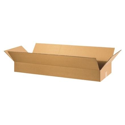 "Corrugated Boxes, 36 x 16 x 5"", Kraft, Flat"