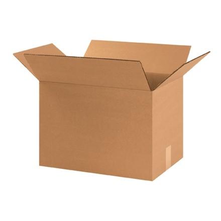 "Corrugated Boxes, Heavy Duty, 17 1/4 x 11 1/4 x 12"", Kraft"