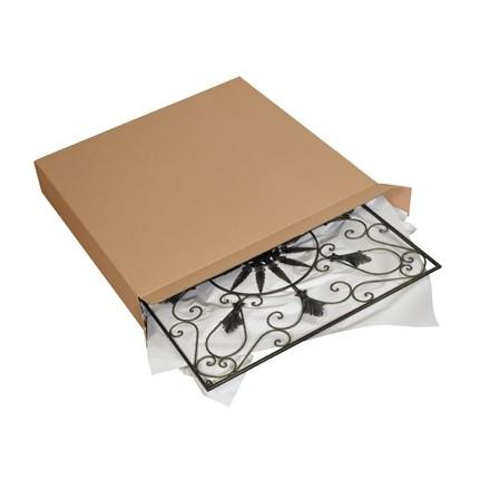 "Corrugated Boxes, Side Loading, 36 x 5 x 24"""