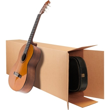 "Corrugated Boxes, Side Loading, 20 x 8 x 50"""