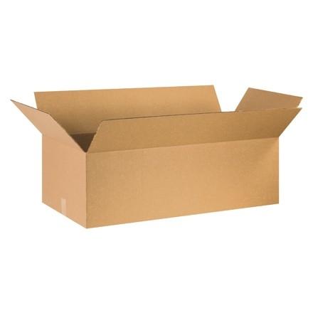 "Corrugated Boxes, 36 x 20 x 12"", Kraft"