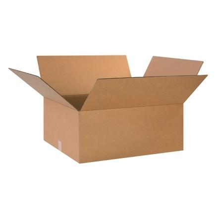 "Corrugated Boxes, 26 x 20 x 10"", Kraft"
