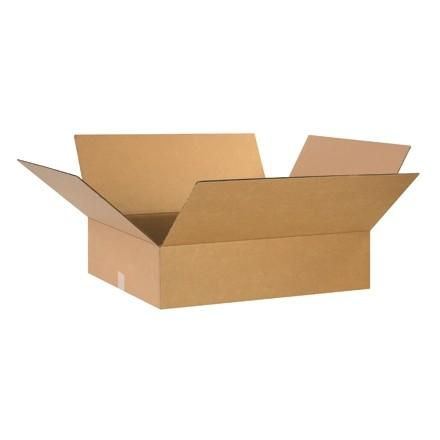 "Corrugated Boxes, 26 x 20 x 8"", Kraft"