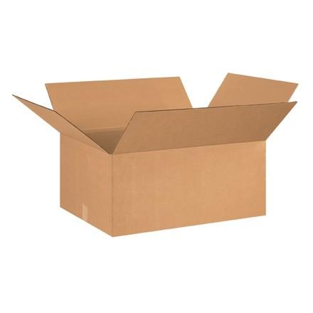 "Corrugated Boxes, 26 x 20 x 12"", Kraft"
