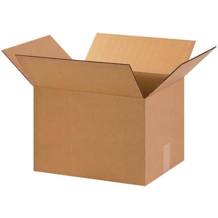 "Corrugated Boxes, 15 x 12 x 10"", Kraft"