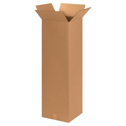"Corrugated Boxes, 15 x 15 x 48"", Kraft"