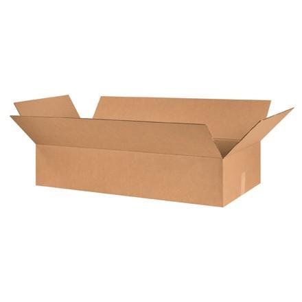 "Corrugated Boxes, 48 x 12 x 6"", Kraft"