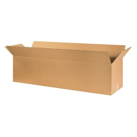 "Corrugated Boxes, 50 x 12 x 12"", Kraft"