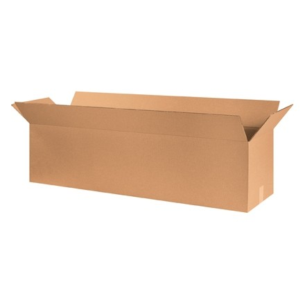 "Corrugated Boxes, 48 x 12 x 12"", Kraft"