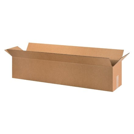"Corrugated Boxes, 40 x 6 x 6"", Kraft"
