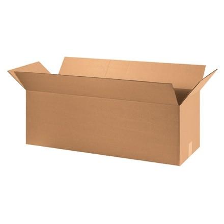 "Corrugated Boxes, 36 x 12 x 12"", Kraft"