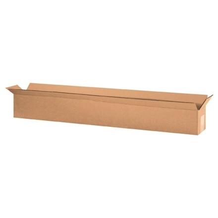 "Corrugated Boxes, 36 x 4 x 4"", Kraft"