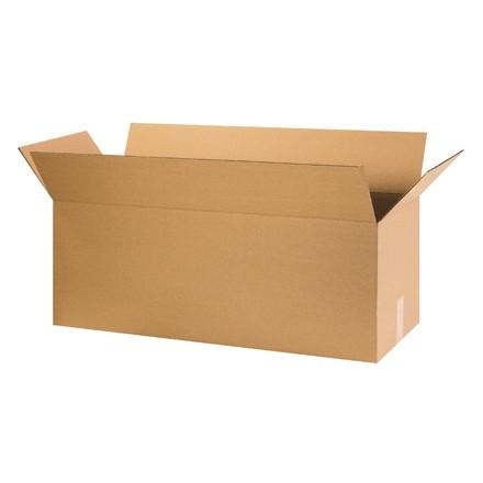 "Corrugated Boxes, 32 x 10 x 10"", Kraft"