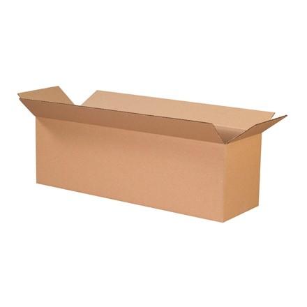 "Corrugated Boxes, 26 x 8 x 8"", Kraft"