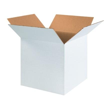 "White Corrugated Boxes, 16 x 16 x 16"", Cube"