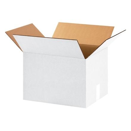 "Corrugated Boxes, 16 x 12 x 12"", White"